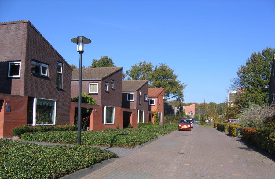 deelplan met patiowoningen
