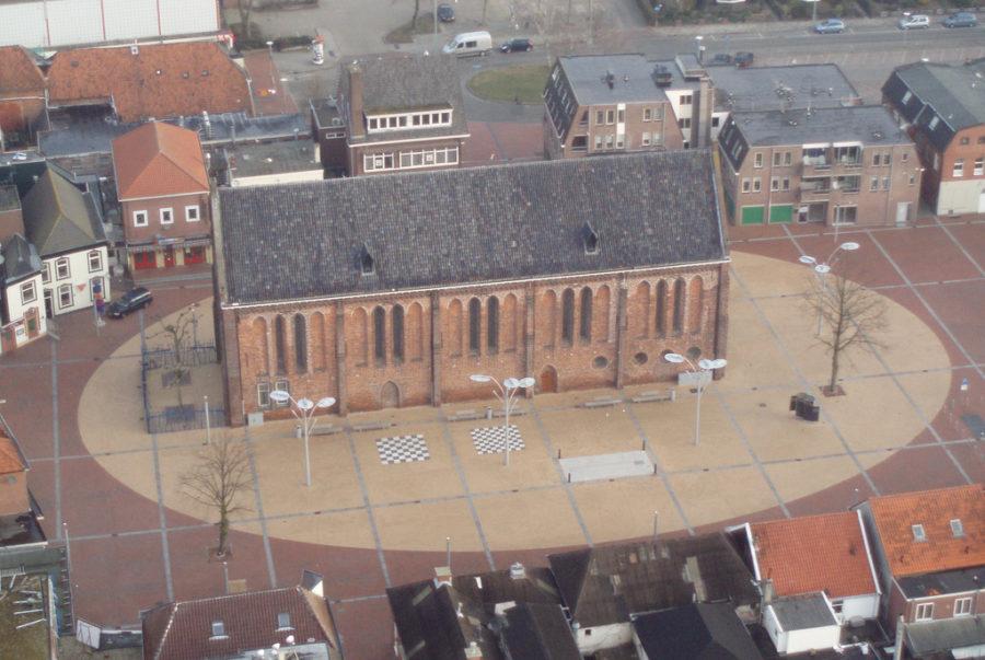 luchtfoto Marktplein - foto: Aero-Balloons