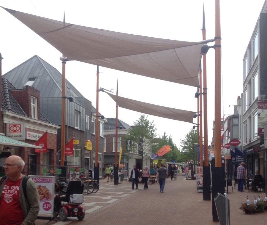 overkapping Landstraat, thema: haven